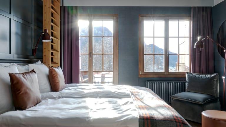 Switzerland's Sexiest Chalet-Style Hotel