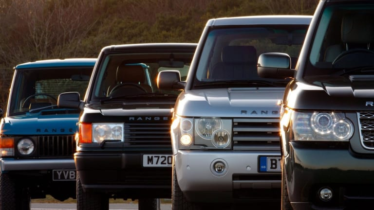 Cool Video Shows How the Range Rover Has Evolved Over Time