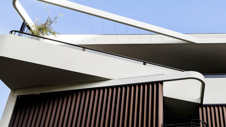 Inside a Uniquely Modern Australian Duplex