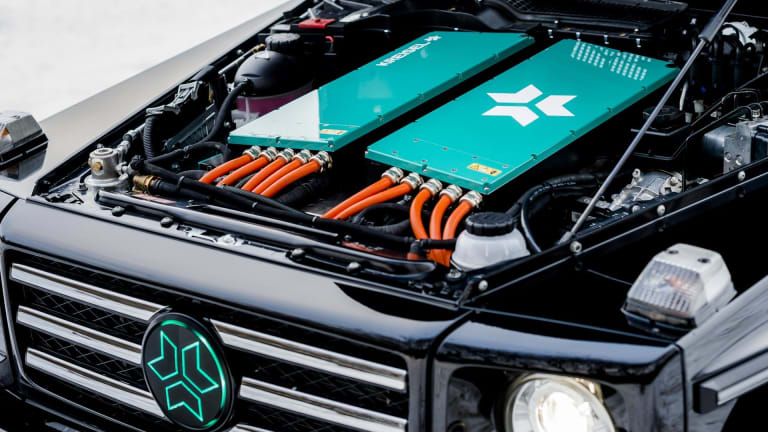Arnold Schwarzenegger Had This All-Electric G-Wagon Custom Made