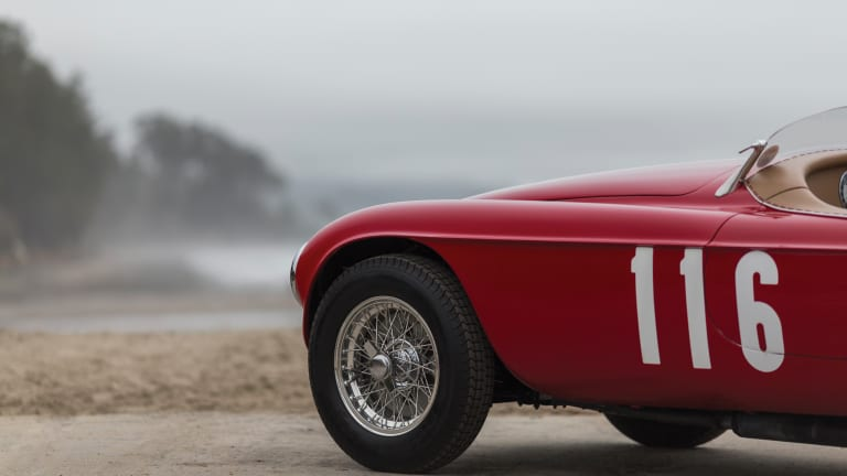 You Could Buy 500 Brand New Toyotas–Or This 1950 Ferrari 166 MM Barchetta