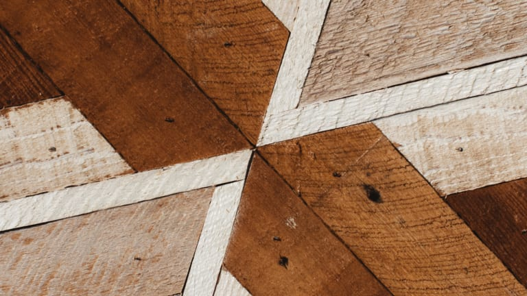 Warm Up Your Walls With This Art Crafted From Salvaged Wood