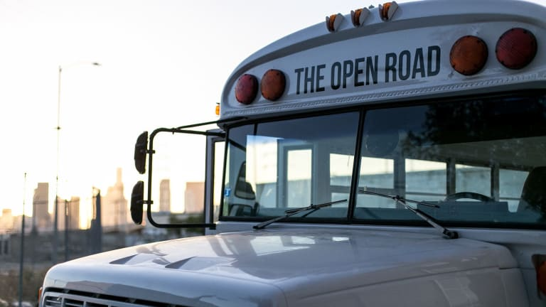 Buck Mason Converted a Vintage School Bus Into Gorgeous Mobile Retail Space