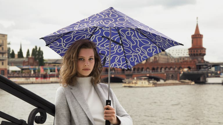 Senz Umbrellas Are Your Coolest Defense Against Spring Showers