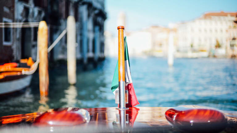 The Beautiful Riva Boats of Venice