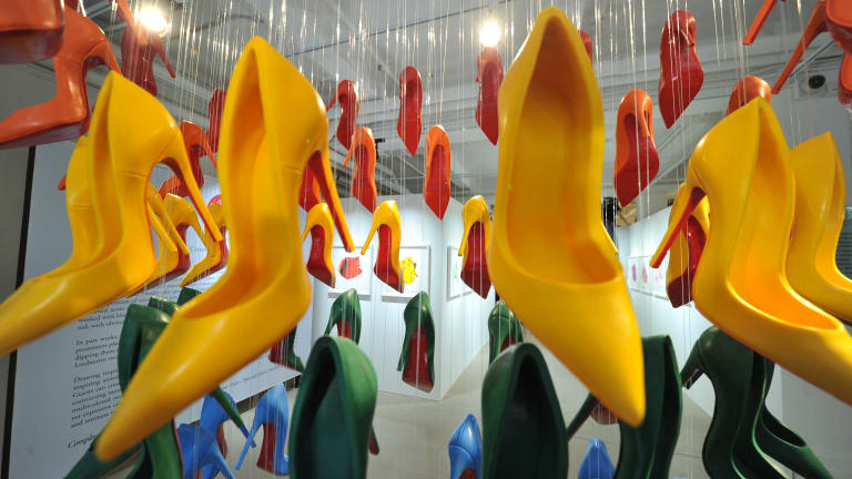 Inside Christian Louboutin's Art Basel Hong Kong Installation