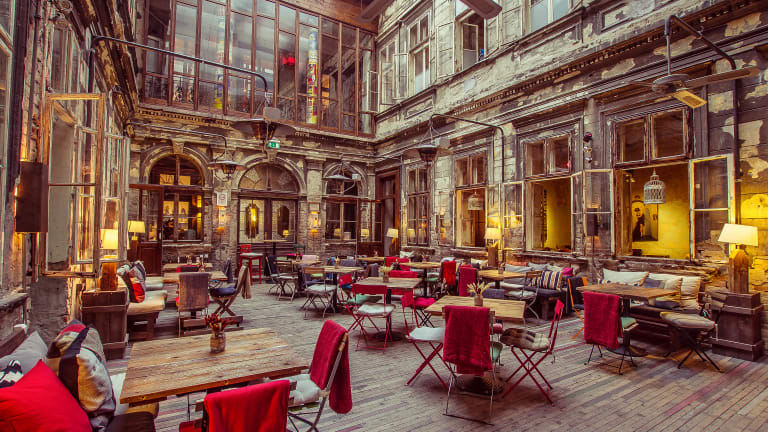 Budapest's Coolest Members-Only Social Club