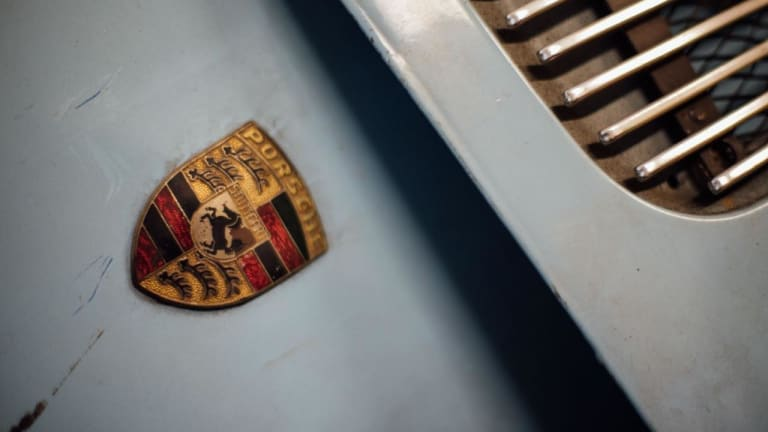 Inside the Porsche-Obsessed Garage of a German Car Collector
