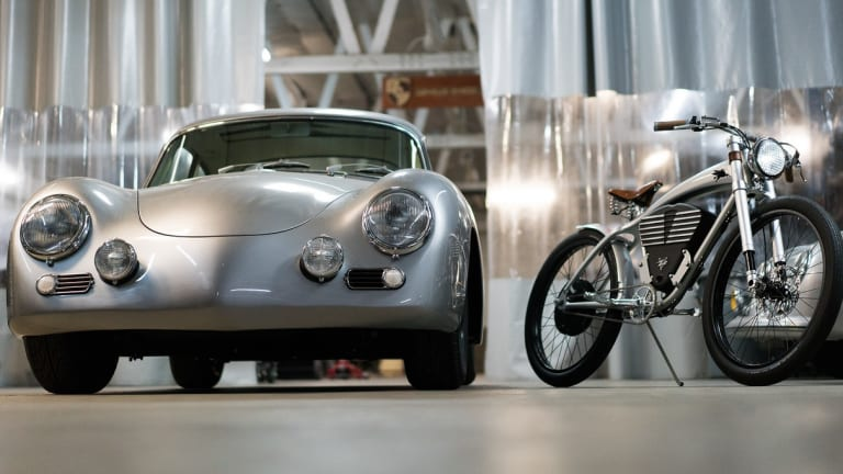 Porsche-Customizer Rod Emory Designed an Incredible Electric Bicycle
