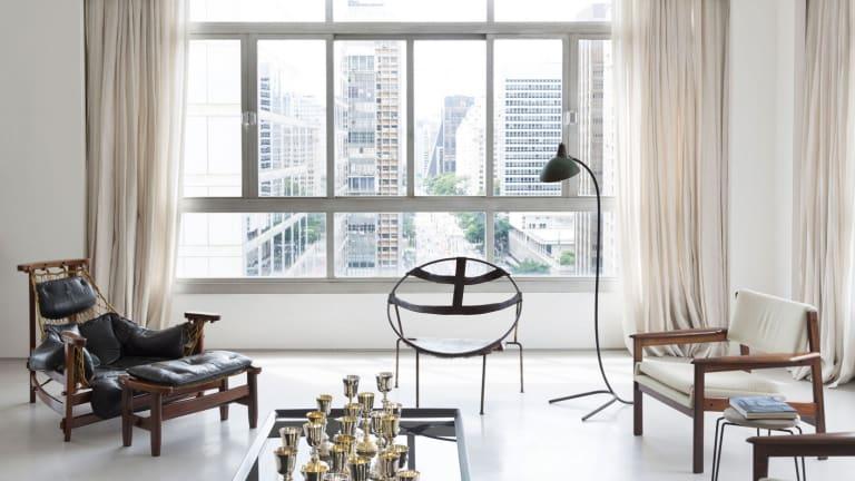 Inside a Perfectly Minimal São Paulo Apartment