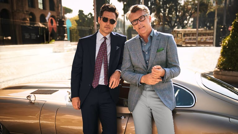 Classic Cars, Bespoke Suits & the Italian Coast Star in This Super Stylish Video