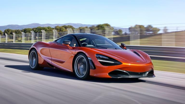 Watch the New McLaren 720S Strut Its Stuff