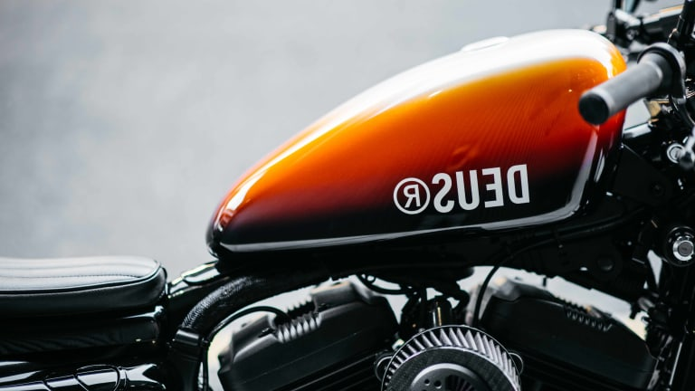 All Hail Deus' Custom Harley Davidson