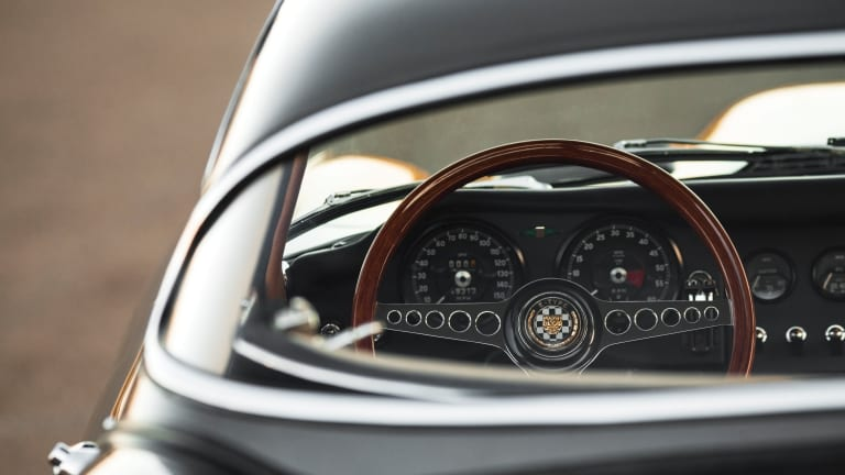 This Vintage Jaguar E-Type Is So Pretty It Hurts