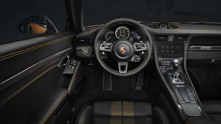 The Porsche 911 Turbo S Exclusive Series Strikes Gold