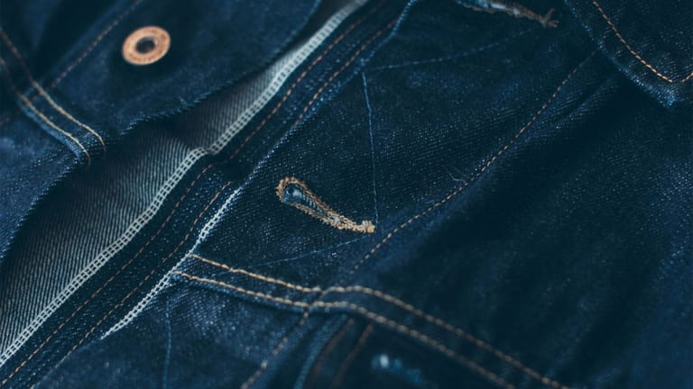 This Selvage Denim Jacket is for Legends-in-the-Making