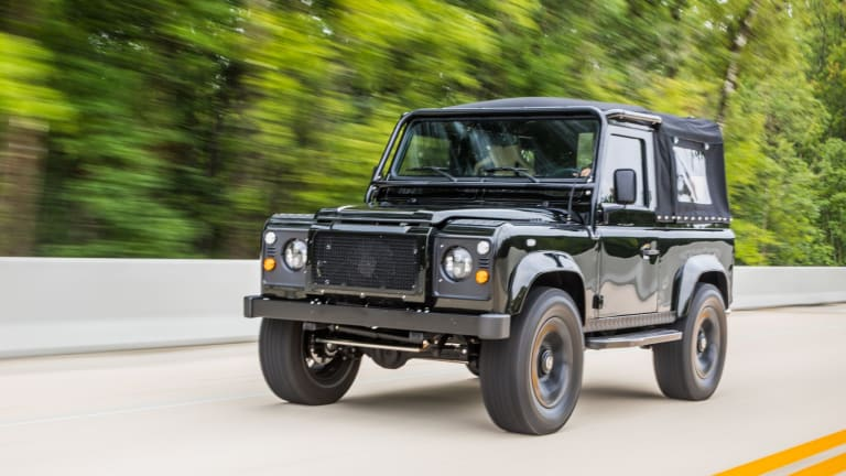This Blacked-Out Land Rover Defender Is Overflowing With Stealthy Style