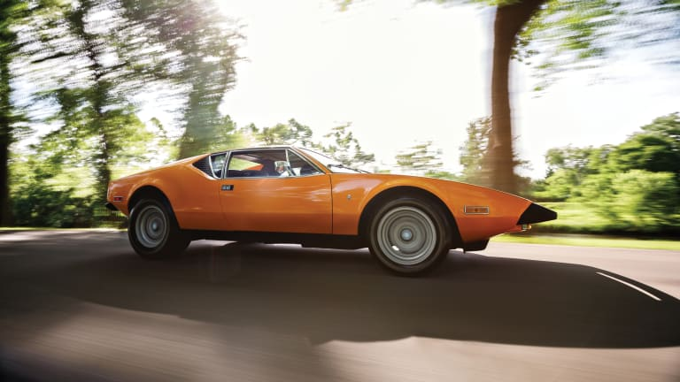 Lay Your Eyes on This Gorgeous 1974 De Tomaso Pantera L