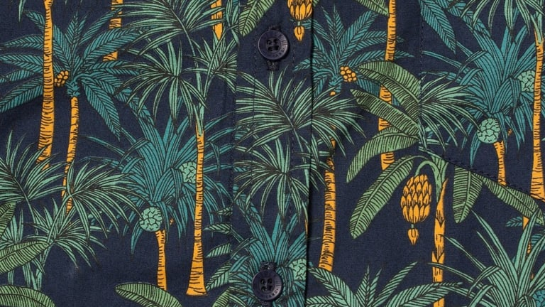 These Blissfully Designed Tropical Shirts are Ideal for Summer Getaways