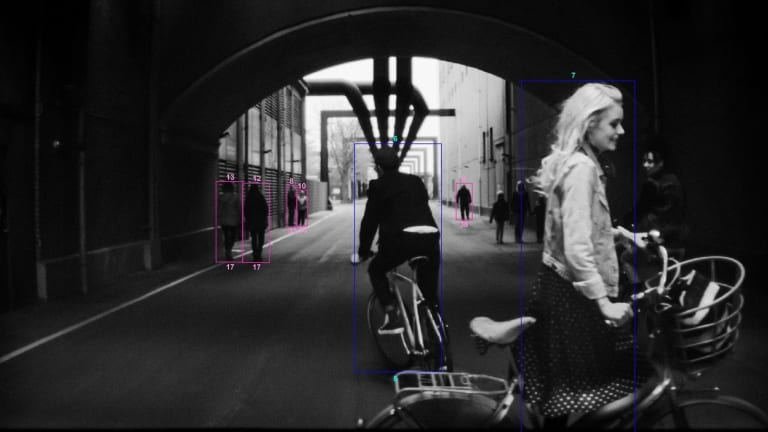 A Pulitzer-Winning Photographer Captured City Life Using Only Volvo's Onboard SafetyCameras