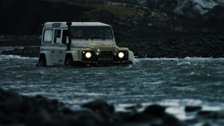 Watch a Land Rover Defender Tear Up Iceland in This Intense and Inspiring Video