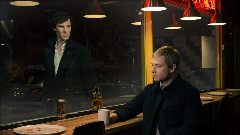 How 'Sherlock' Brilliantly Uses Visuals to Convey Thought