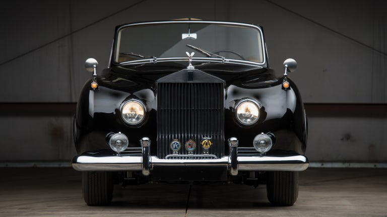 Car Porn: 1957 Rolls-Royce Silver Cloud