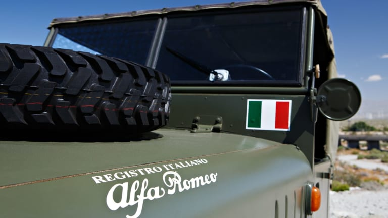 This Legendary Alfa Romeo Military Vehicle Is Surprisingly Affordable