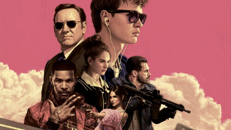 The 'Baby Driver' Opening Car Chase, Mapped