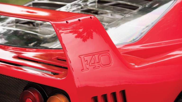 Car Porn: 1989 Ferrari F40