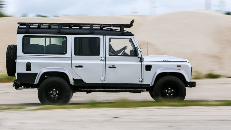 Car Porn: Restomod 'Project Ironhorse' Land Rover Defender by ECD