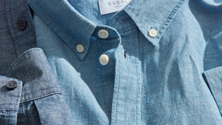 This Linen-Chambray Shirt Is Light, Breathable, and Made for Versatility