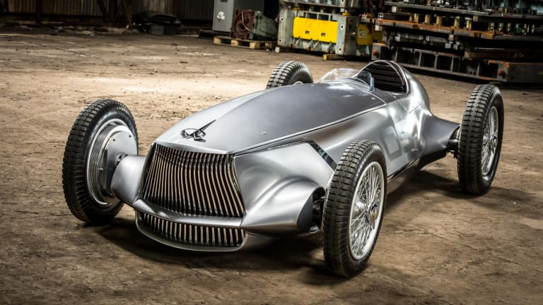 Infiniti Unveils a Retro-Inspired Electric Racer