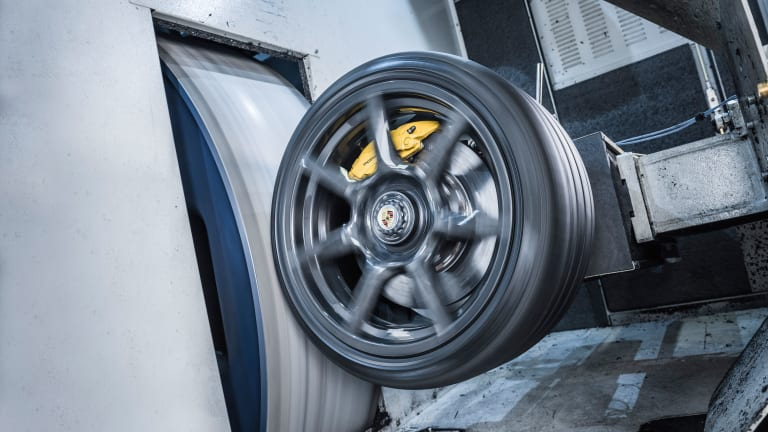 Porsche Premiers Braided Carbon Fibre Wheels