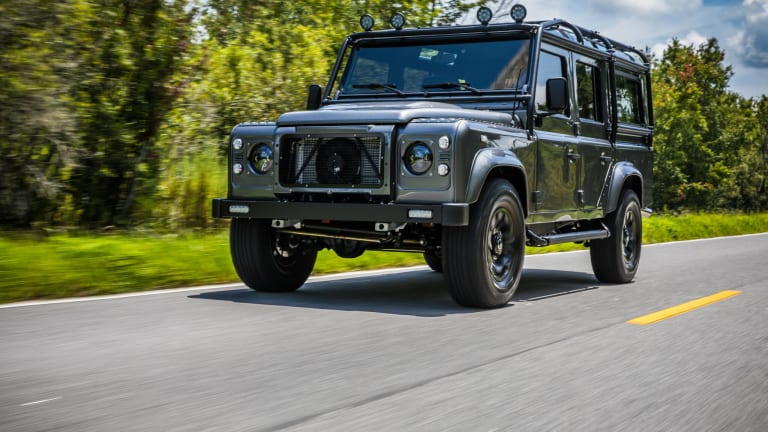 The Custom 'Project Kingsman' Defender Is a Beautiful Behemoth