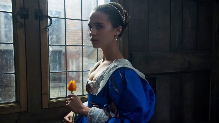 Watch the Banned-from-TV-for-Being-Too-Sexy 'Tulip Fever' Trailer Starring Alicia Vikander