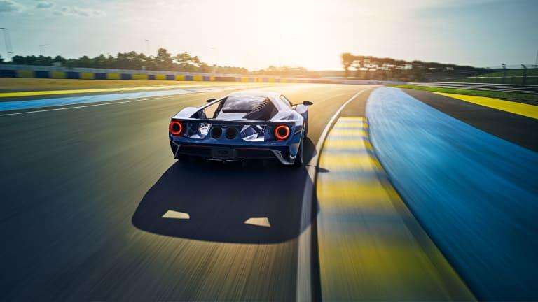 10 Achingly Beautiful Photos of the Ford GT at Le Mans