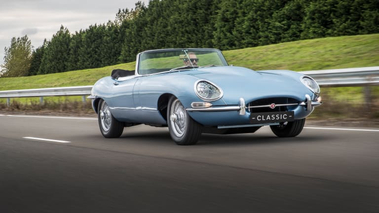 Jaguar Debuts Achingly Beautiful All-Electric E-type