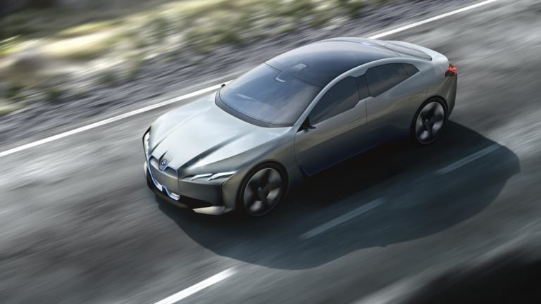 BMW Takes Aim at the Tesla Model S With All-Electric Gran Coupe