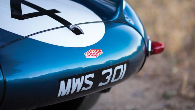 20 Gorgeous Photos of a Le Mans-Winning 1955 Jaguar D-Type
