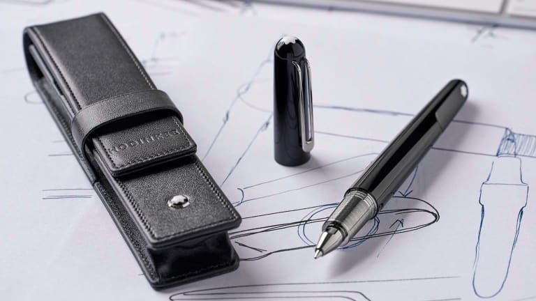 This Marc Newson Designed Montblanc Pen Is as Good as It Gets