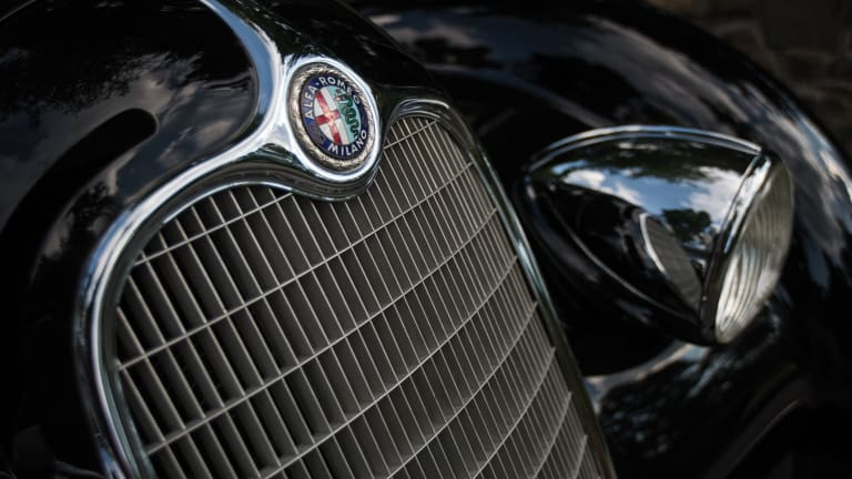 This Rare $20mm Alfa Romeo Is an Art Deco Batmobile