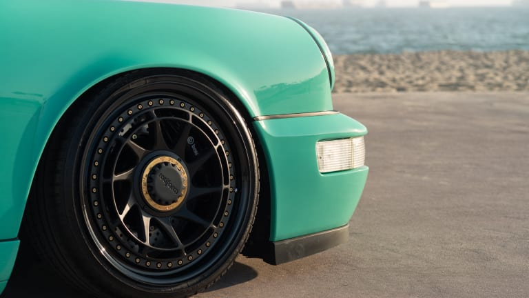This Mint Green Porsche 964 Is Unlike Anything You've Seen