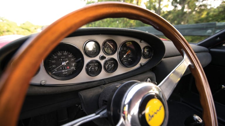 This 1968 Ferrari Dino 206 GT Is Flat-Out Sizzling