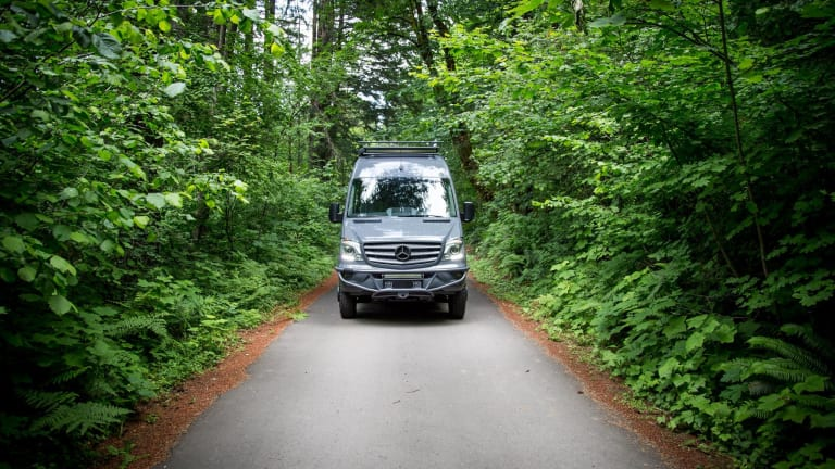 This Tricked Out Mercedes Sprinter Is One Seriously Cool Camper Van