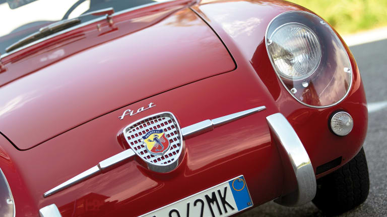 WARNING: 1956 Fiat-Abarth 750 GT May Cause Dry Mouth