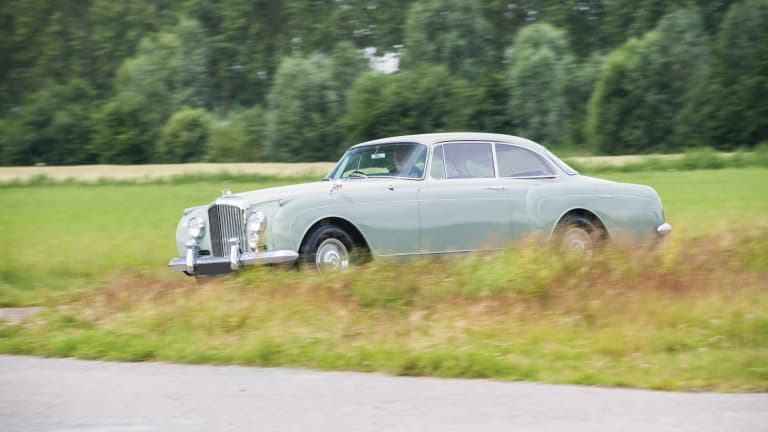 This 1961 Bentley S2 Continental Sports Saloon Is Pure Class