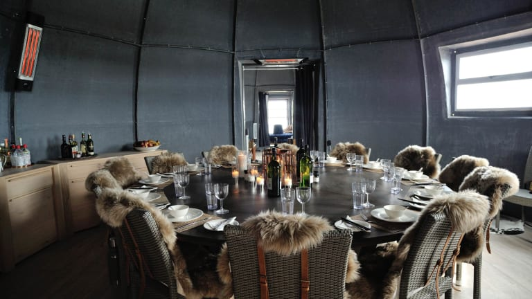There's a Stunning Hotel on the Tip of Antarctica