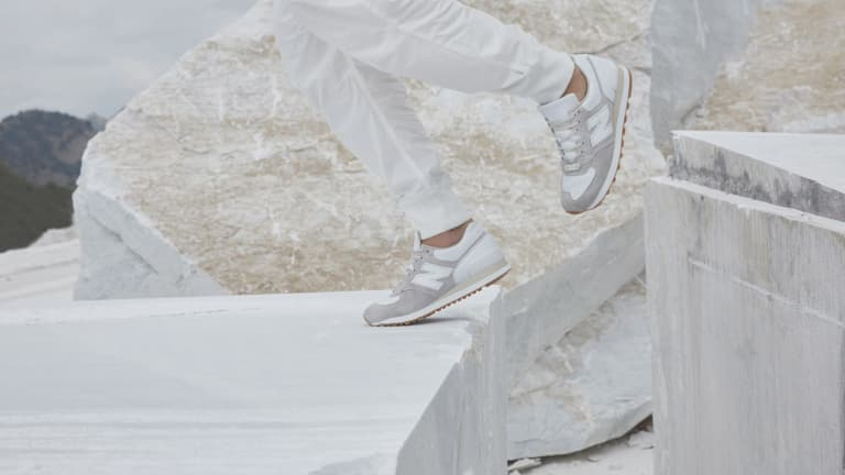 Marble-Inspired New Balance Sneakers Couldn't Be Cooler