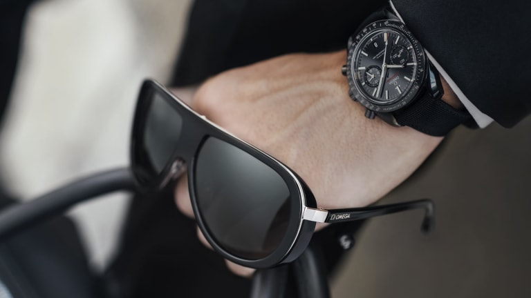 Omega Launched a 007-Ready Sunglasses Collection